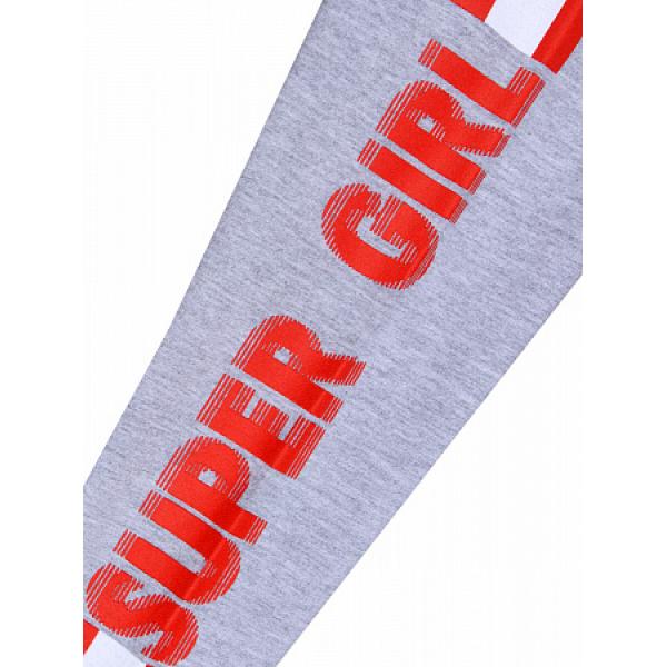 20-14225 Лосины для девочки, 4-7 лет, меланж