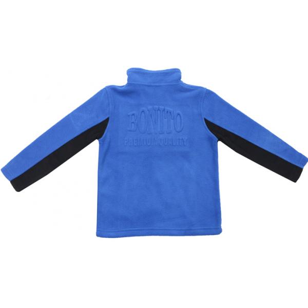 20-4351OP Толстовка флисовая, 5-8 лет, синий