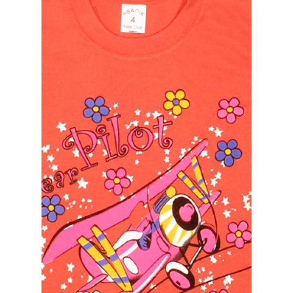 09-142106 Комплект футболка-шорты, 1-4 года, морковный