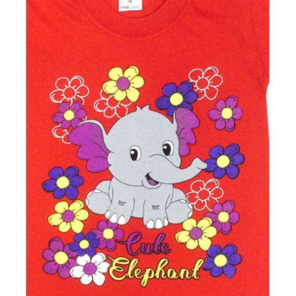 09-142109 Комплект футболка-шорты, 1-4 года, красный