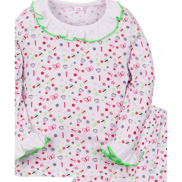 """11-3781032 """"Мальвина"""" Пижама для девочки, 3-7 лет"""