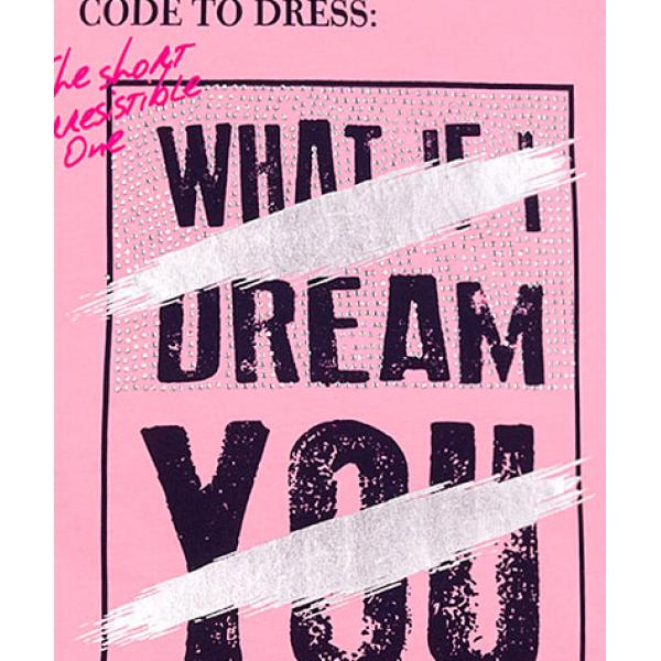 """12-8110807-3 """"Dream"""" Туника для девочки, 8-11 лет, розовый"""