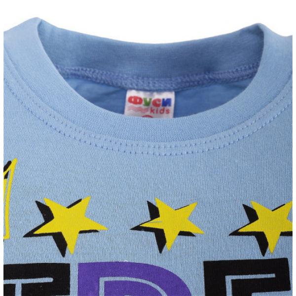 47-9120101-16 Футболка для мальчика, 9-12 лет, св-голубой