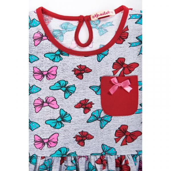 20-117401 Платье для девочки, 3-7 лет