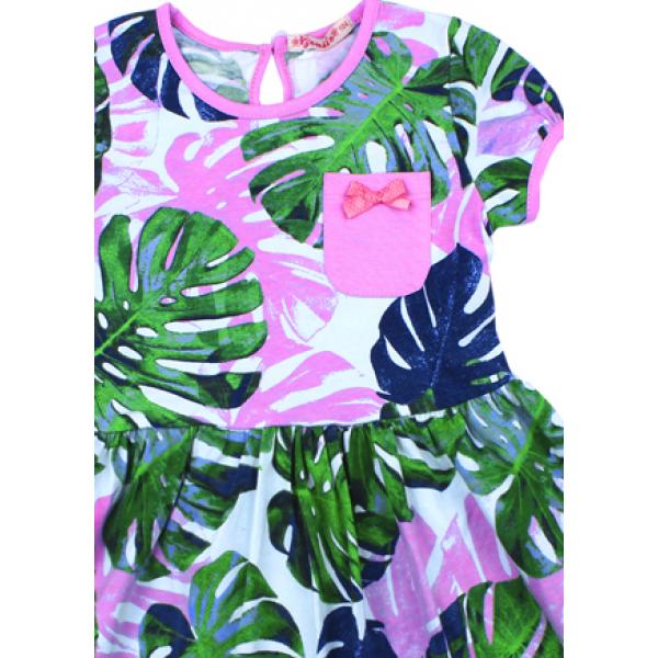 20-117405 Платье для девочки, 3-7 лет