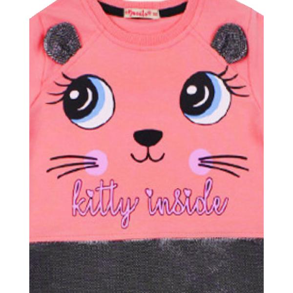 20-12705 Платье для девочки, 3-7 лет, розовый