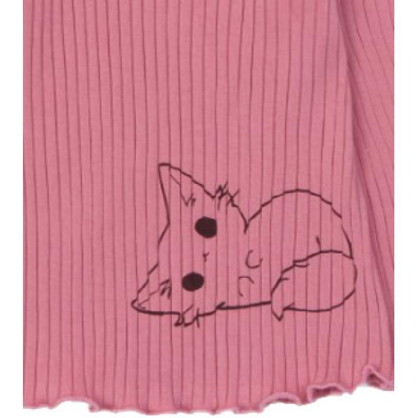 20-1303-1 Пижама для девочки, кашкорсе,  74-98, розовый