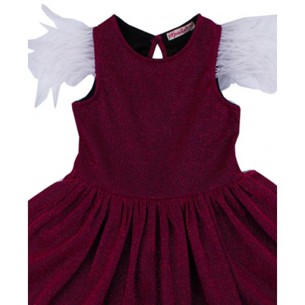 20-13413 Нарядное платье для девочек, 2-6 лет