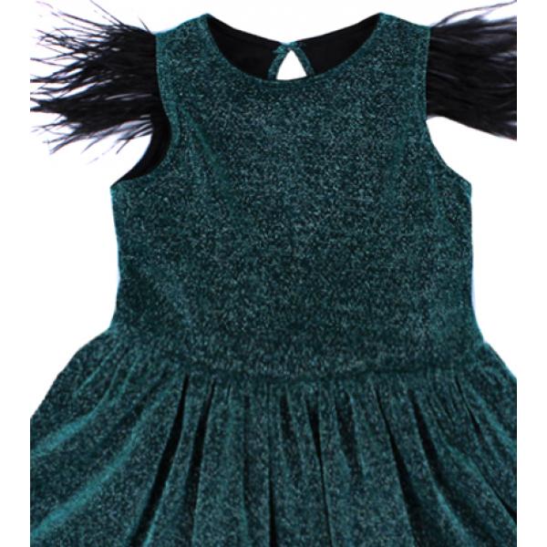 20-13414 Нарядное платье для девочек, 2-6 лет
