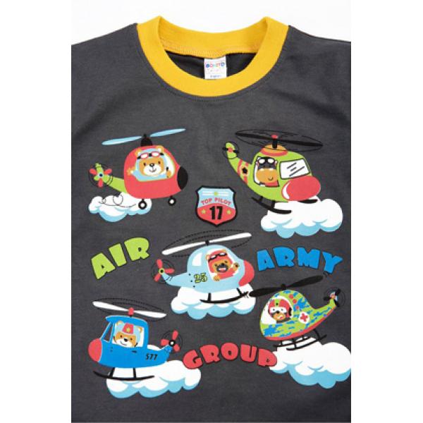 "20-20105 ""Air"", костюм для мальчика, 1-4 года, т-серый"