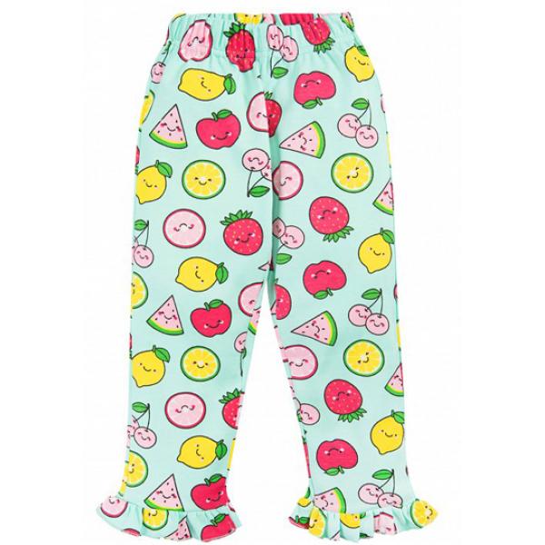 20-30051 Пижама для девочки, 2-5 лет, ментоловый