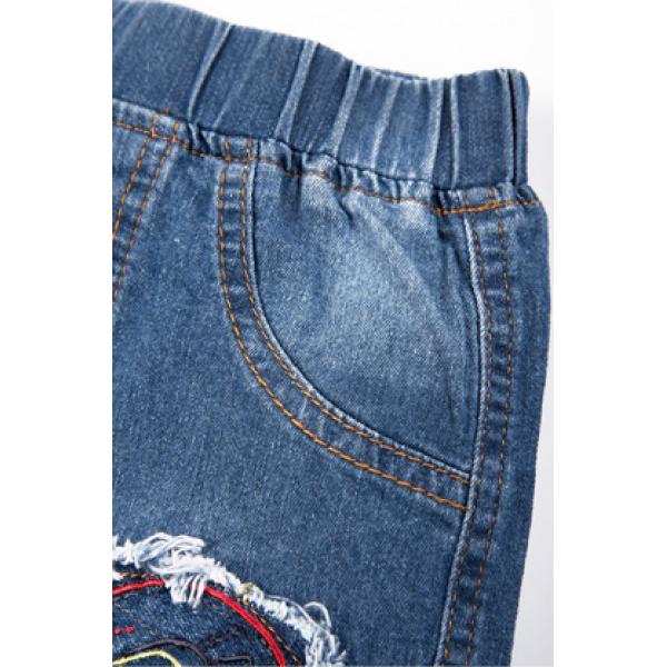 20-772 Джинсовые шорты для мальчика, 2-5 лет