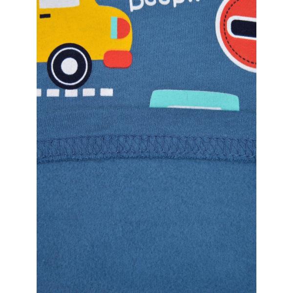 20-0071-8  Водолазка с начесом, 1-4 года, джинсовый