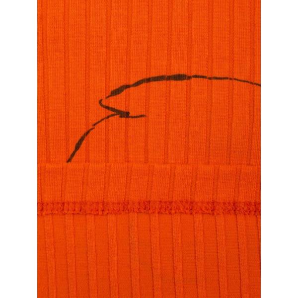20-1297-2 Водолазка кашкорсе (лапша), 86-92, оранжевый