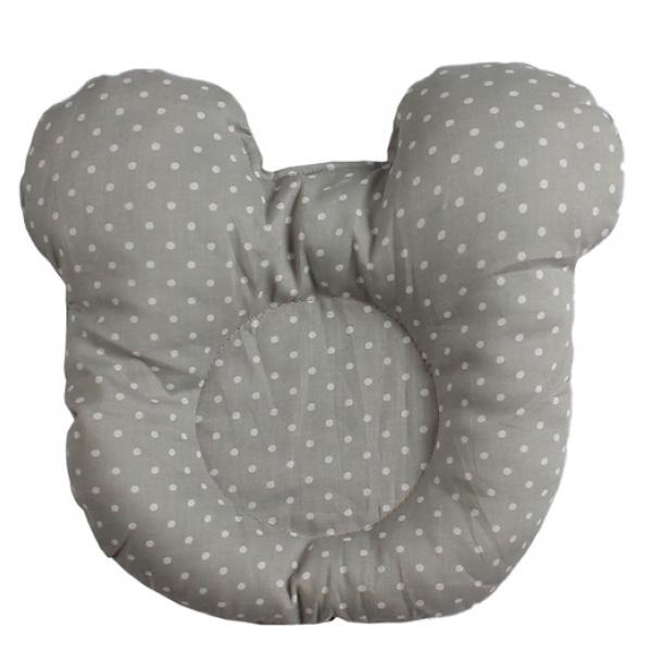 45-5692 Гнездышко - кокон для новорожденных с мягкой подушкой, серый