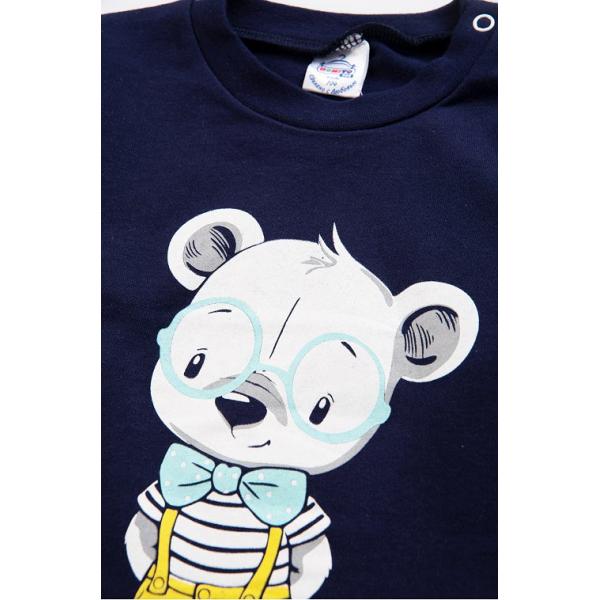 20-006103 Джемпер для мальчика, 1-4 года, т-синий