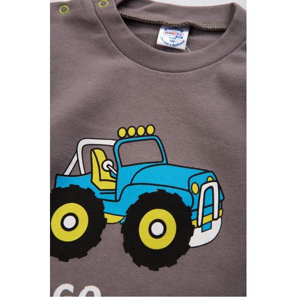 20-006102 Джемпер для мальчика, 1-4 года, графитовый