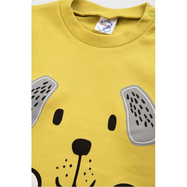 20-006104 Джемпер для мальчика, 1-4 года, желтый
