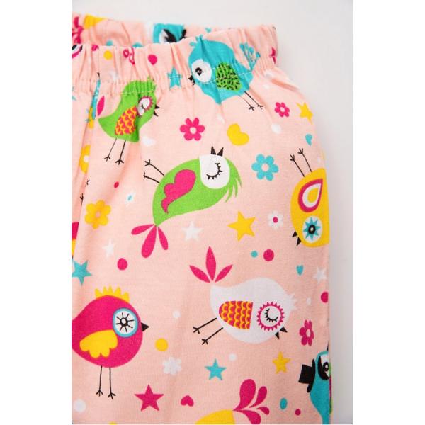 20-12162 Пижама для девочки, 3-7 лет, коралловый