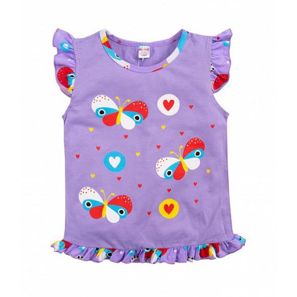 20-12164 Пижама для девочки, 3-7 лет, сиреневый