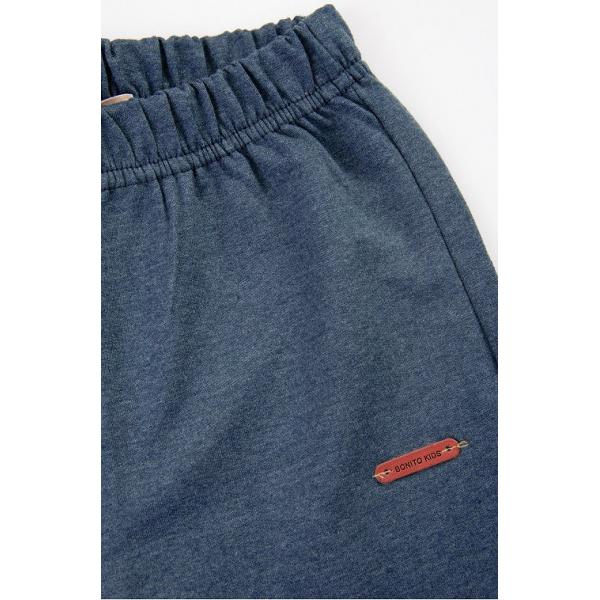 20-7831 Лосины со сборками, 8-12 лет, джинсовый