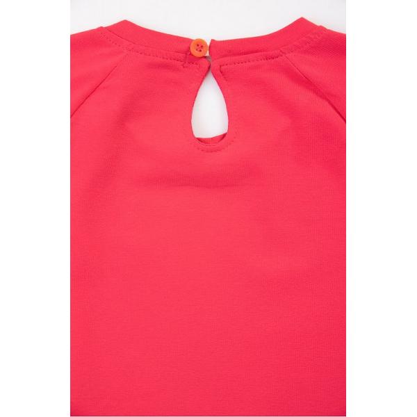 20-8352 Платье для девочки, 2-6 лет, малиновый