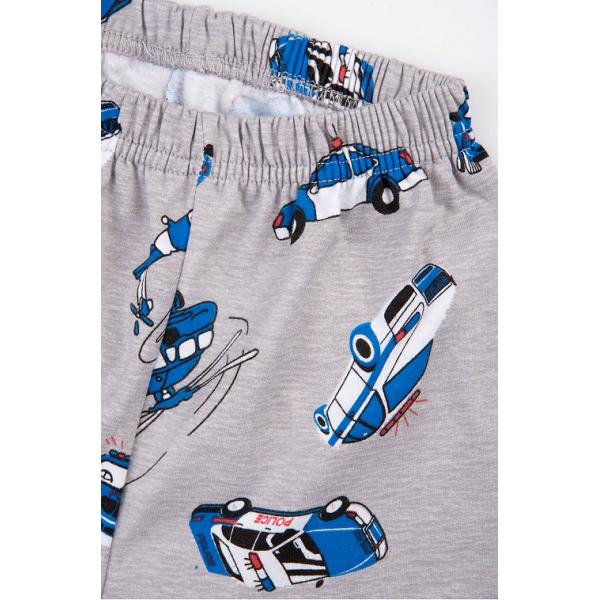 20-95512 Пижама утепленная для мальчика, 7-10 лет, меланж