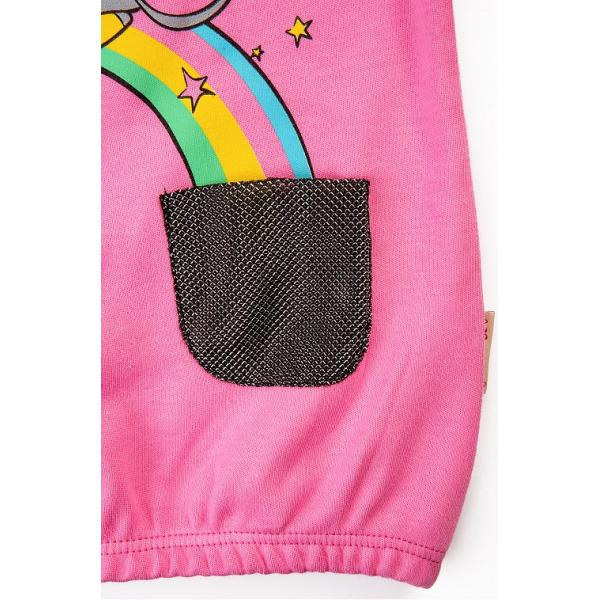 20-12634 Джемпер для девочки, 2-6 лет, розовый