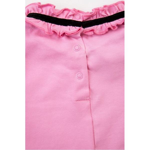20-12724 Платье для девочки из фуллайкры, 3-7 лет, розовый