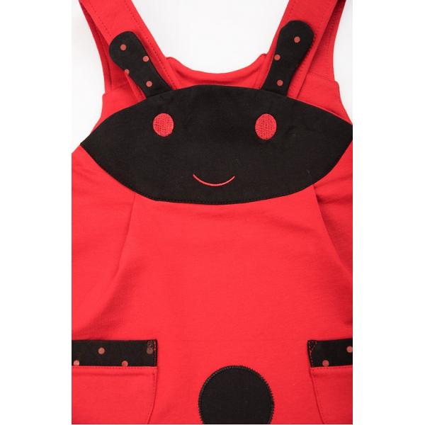 20-3631 Сарафан для девочки, фуллайкра, 2-6 лет, красный