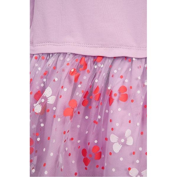 20-3755 Платье для малышки, фуллайкра, 74-92, сиреневый