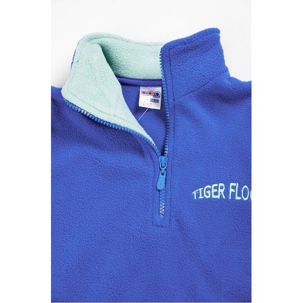 """20-4303OP """"Tiger Floor""""  Толстовка для мальчика, поларфлис, 3-7 лет, электрик"""