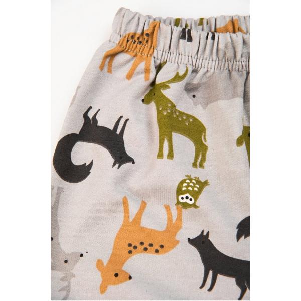 "20-95512 Wild Life"" Пижама утепленная для мальчика, 7-10 лет, серый"