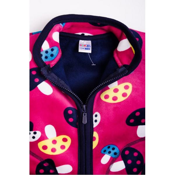 20-05003k Куртка для девочки, велсофт, 2-5 лет
