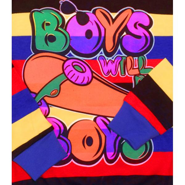47-58118 Свитшот для мальчика, 5-8 лет