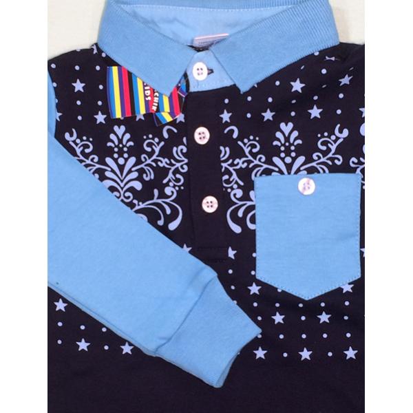 47-1458704 Рубашка поло (длин. рук.) для мальчика