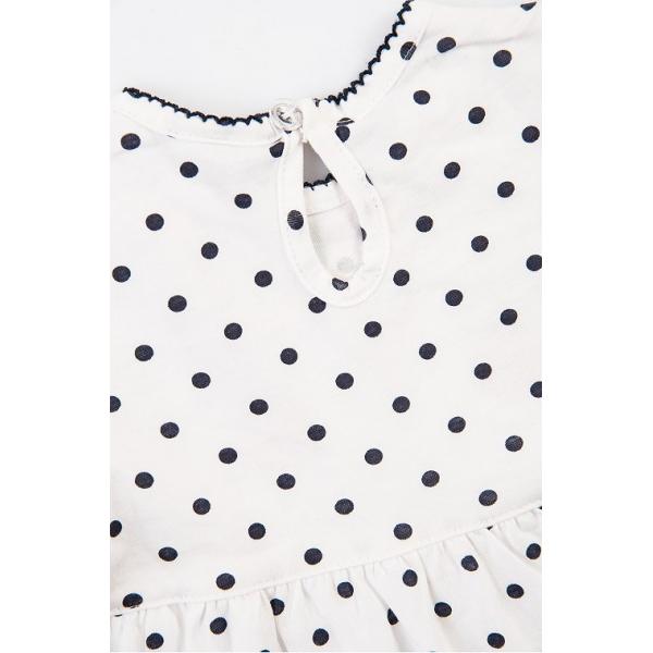 20-27904 Платье для малышки, 68-86, белый