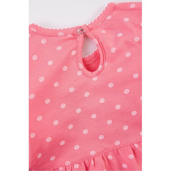 20-27901 Платье для малышки, 68-86, коралловый