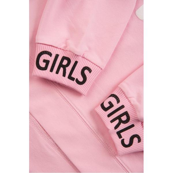 """20-1239-4 """"Girls"""" Костюм для девочки, 5-8 лет, розовый"""