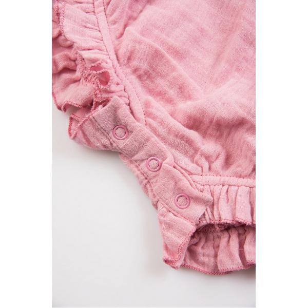 20-1346-1 Боди для девочки, муслин, 68-86, розовый