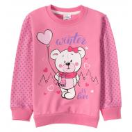 12-25489-4 Джемпер для девочки, 2-5 лет, розовый