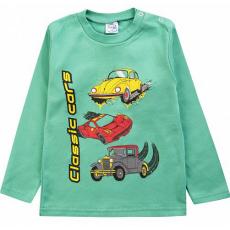 20-006109 Джемпер для мальчика, 1-4 года, зеленый