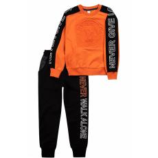 20-1218-1 Костюм спортивный для девочки, 8-12 лет, оранжевый