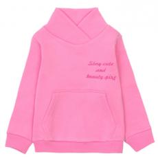 20-1261-3 Толстовка утепленная для девочки, 3-7 лет, т-розовый