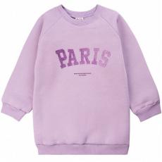 """20-1262-4 """"Paris"""" Толстовка утепленная для девочки, 3-7 лет, лиловый"""