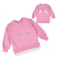 20-1517-1 Джемпер для девочки, 3-7 лет, розовый