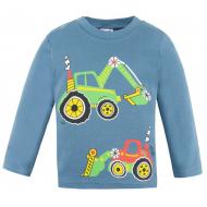 20-006106 Джемпер для мальчика, 1-4 года, джинсовый