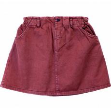 20-1189-3 Юбка для девочки, 2-5 лет, бордовый