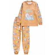 20-14581-2 Пижама для мальчика, 1-4 года, коричневый