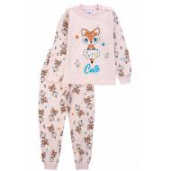 20-14582-3 Пижама для девочки, 1-4 года, персиковый